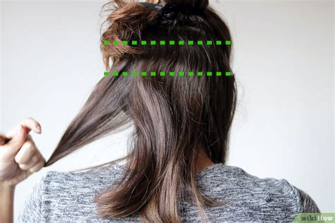 hair thats straight on top curly at bottom 5 mani 232 res de se faire des boucles wikihow