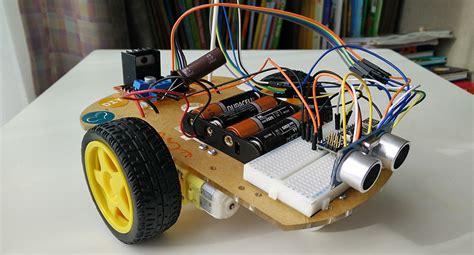membuat robot dengan joystick mikrokontroller arduino ready steady go