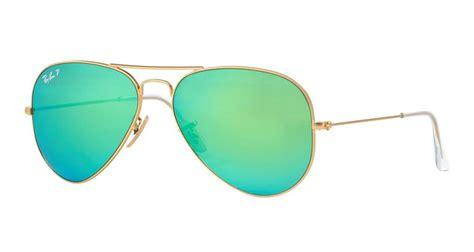 Kacamata Ryban Aviator List Green ban 3025 aviator sunglasses matte gold green mirror polarized rb3025 112 p9
