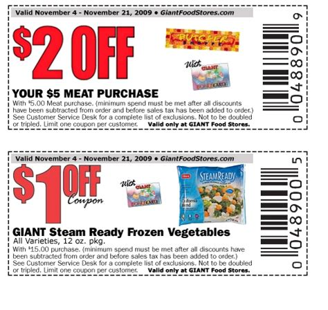latest printable grocery coupons giant pa new 2 00 off meat purchase ftm