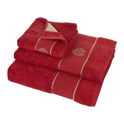 guest bathroom towels buy roberto cavalli gold towel red guest towel amara