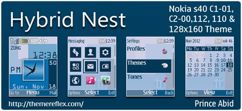 how to download themes for nokia c1 01 hybrid nest theme for nokia c1 01 c2 00 110 112 128