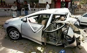 speed demon strikes again: horrific crash in south delhi
