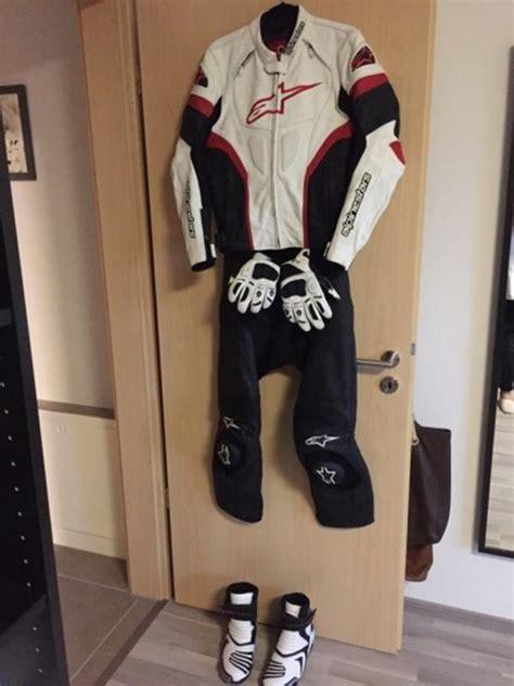 Gebrauchte Motorradbekleidung Leder by Motorrad Leder Kombi In Heroldsberg Motorradbekleidung