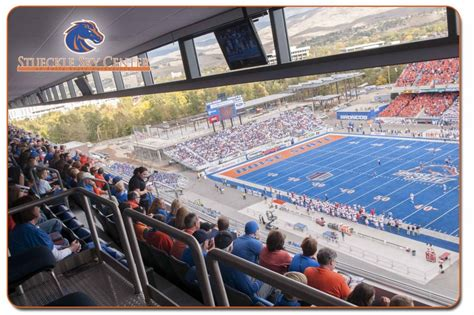 what are club level seats bronco athletic association club level