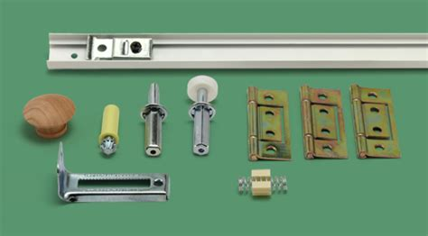 23 504 3 bifold door track and hardware kit 2 panel
