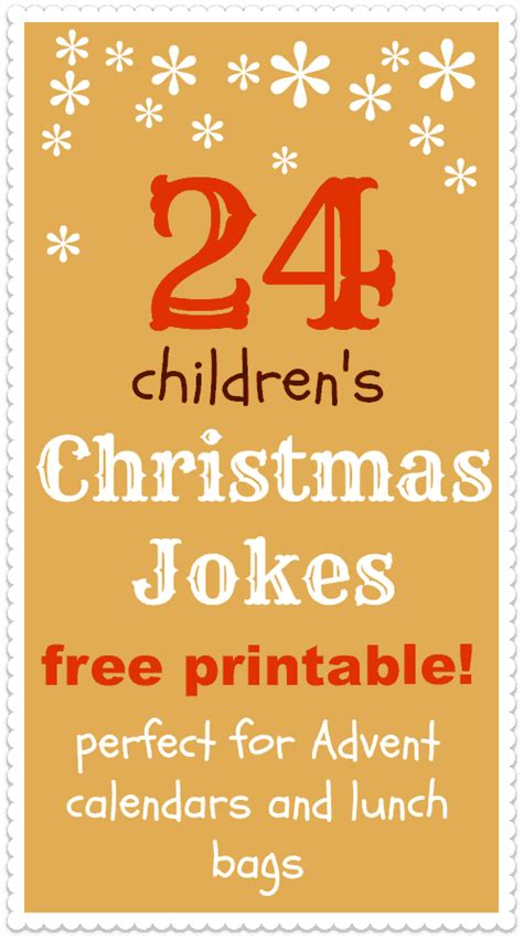 printable one liner jokes christmas jokes for kids printable