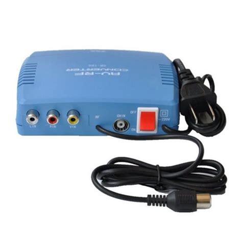 Sale Av To Rf Converter rf modulator av rf av tv converter rca ant input to f type
