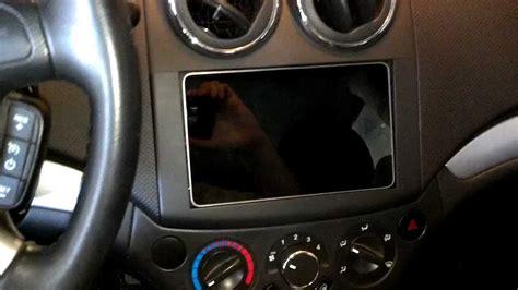 in car dash nexus 7 tablet in car dash stereo chevy aveo