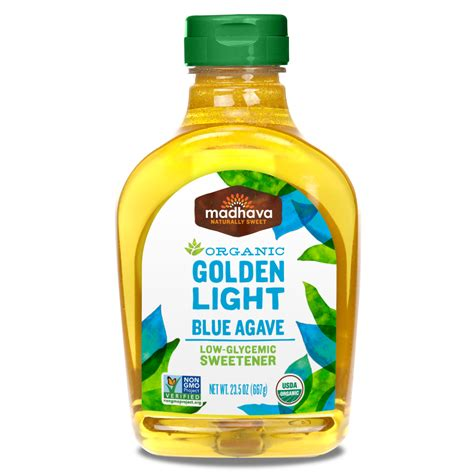 Light Agave Nectar by Golden Light Agave Madhava