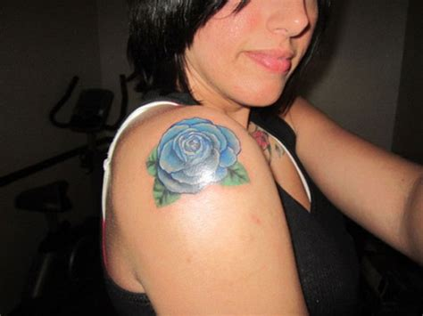 blue rose tattoos meaning blue meaning collection
