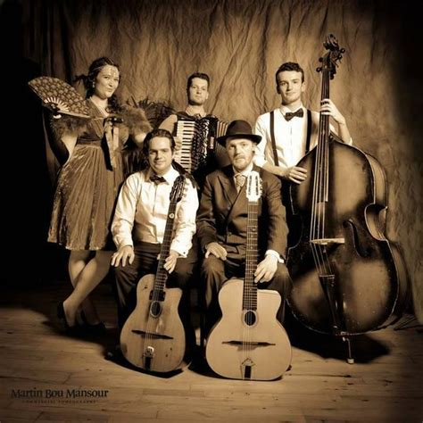 gypsy swing music cafe manouche function wedding band london greater