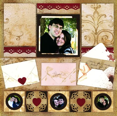 photo themes for couples scrapbook ideas for couples inspiration from letters to