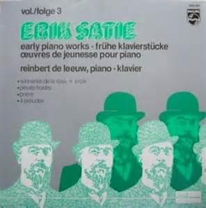 Erik Satie Piano Works Vinyl - クラシックlpレコード 2012年8月26日更新分 classical lp vinyl records