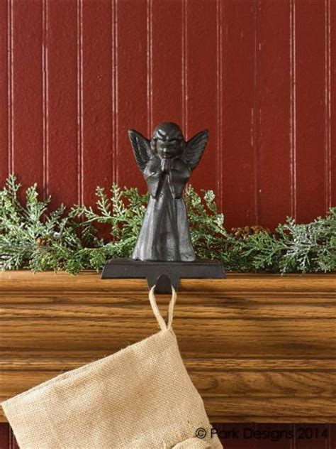angel stocking holders for mantle holders vintage collection hangers and hooks