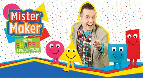 Creative Genius Art Family live nation mister maker