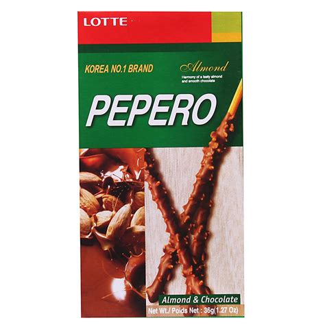 Lotte Pepero Korea No 1 Brand halal lotte pepero almond chocolate end 10 6 2018 11 15 am
