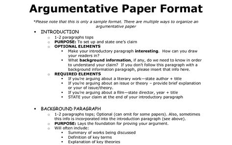 How To Write An Academic Essay Format by Argumentative Essay Format Academic Help Essay Writing