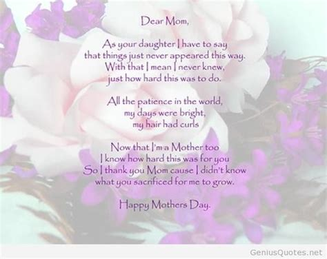Happy Birthday Quotes For In Happy Birthday Quotes For A Special Mom