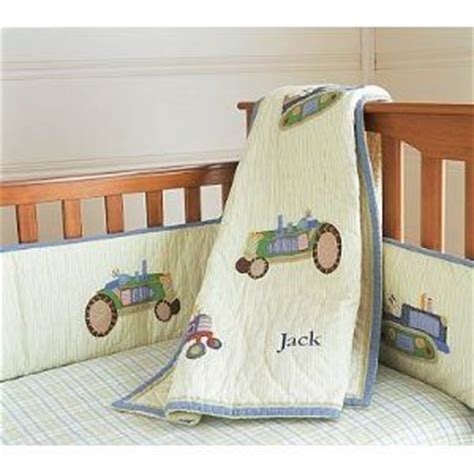 Pottery Barn Kids Tractor Nursery Bedding Baby Tractor Crib Bedding
