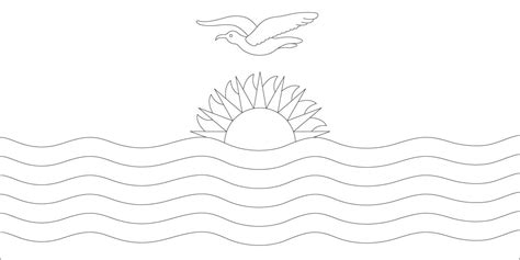 Kuwait Flag Coloring Page Coloring Pages Kuwait Flag Coloring Page