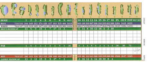 golf scorecard template best golf scorecard template pictures inspiration