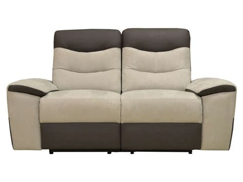 canap 233 relaxation 2 places foster coloris gris vente de