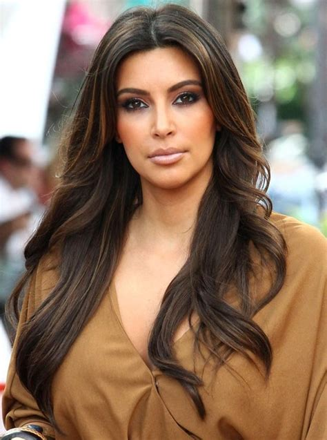 how to do kardashian hairstyles kamdora s hairstyles for this week the center part kamdora