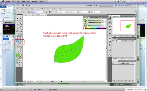 tutorial illustrator cs2 tutorial adobe illustrator daun vectore jaja fatmamiharja