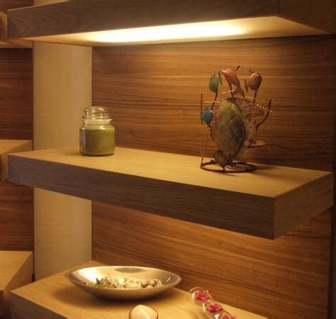 shelf with lights underneath floating shelves what s not to diy diy