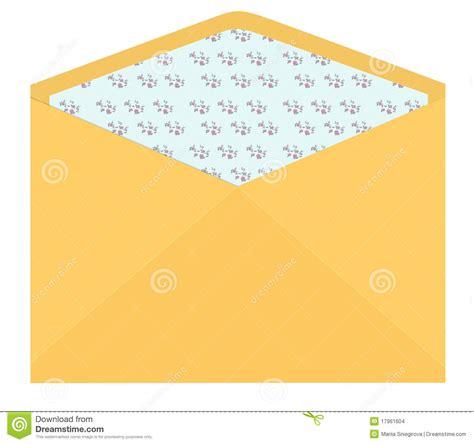 envelope pattern inside vintage envelope with flower pattern inside stock