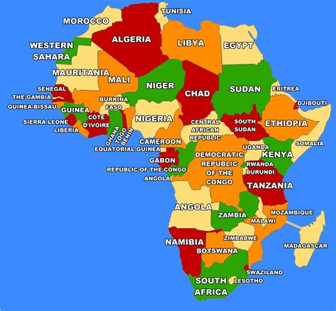 What Countries Can I Go To With A Criminal Record Africa Map Files Provided Travel Boardgamegeek