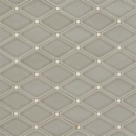 55 Inch Bathroom Vanity Cabinet Highland Park Dove Gray Diamond Contemporary Mosaic