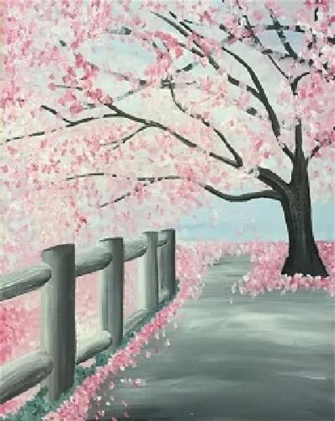 paint nite in ct 17 best ideas about cherry blossom on