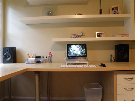home design software lifehacker the floating shelves and hidden cables workspace