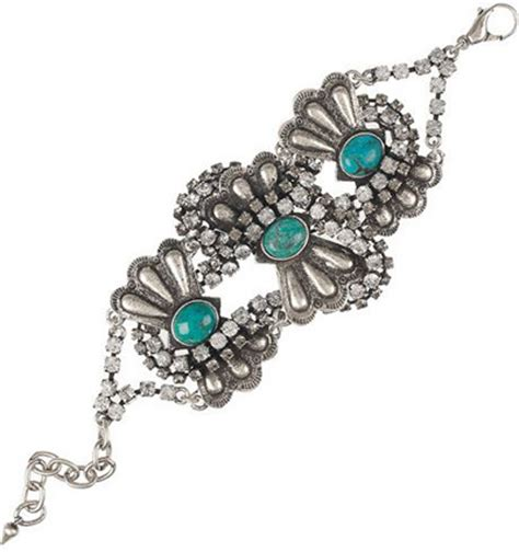 Zina Convertible Clutch by Lulu Turquoise Diamante Bracelet 9 Most Gorgeous
