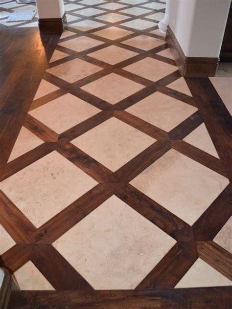 wood tile flooring ideas basketweave tile and wood floor design pictures remodel
