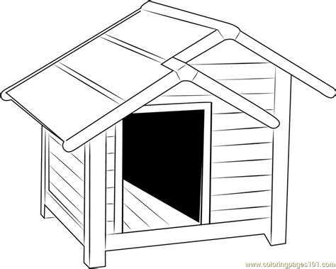 dog house coloring page big dog house coloring page coloring page of a big dog