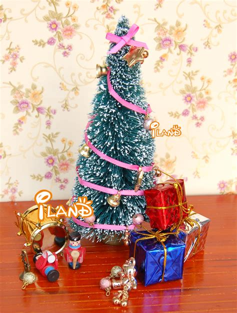 doll house christmas decorations iland 1 12 dollhouse miniature christmas decoration living room accessories christmas