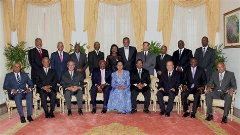 Photos Of Cabinet Ministers by Minnis Threatens New Ministers The Bahama Journal