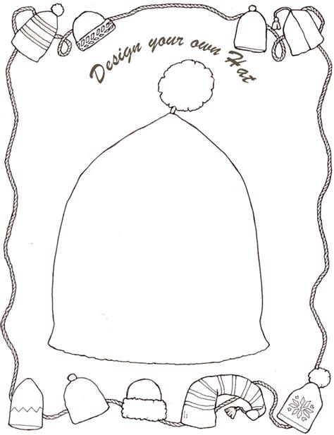 the hat coloring page jan brett jan brett the hat coloring pages coloring home