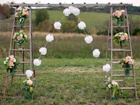 Vintage Ladder Back Chairs Diy Vintage Wedding Ideas For Summer And Spring