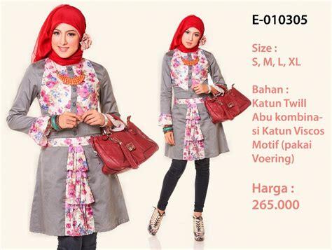 Atasan Abu By Callie Shop baju atasan busana muslim muslim fashion