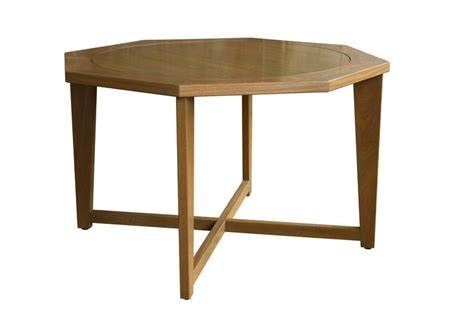 Hendricks Furniture by Octagonal Hendricks Dining Table In Custom Stained
