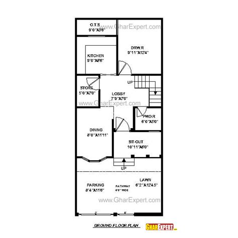 home plan design 100 sq ft house plan for 20 feet by 45 feet plot plot size 100