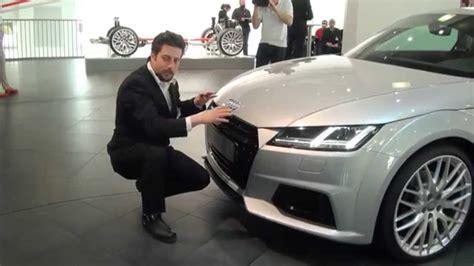 Audi Tt Design by 2015 Audi Tt Design Audi Designer Andreas Valencia