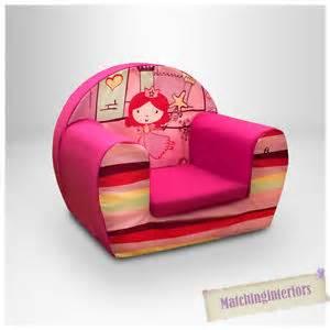 princess castle pink childrens comfy foam chair