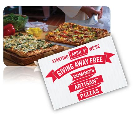 Domino S Pizza Giveaway Quickly - domino s is giving away 75 000 free artisan pizzas
