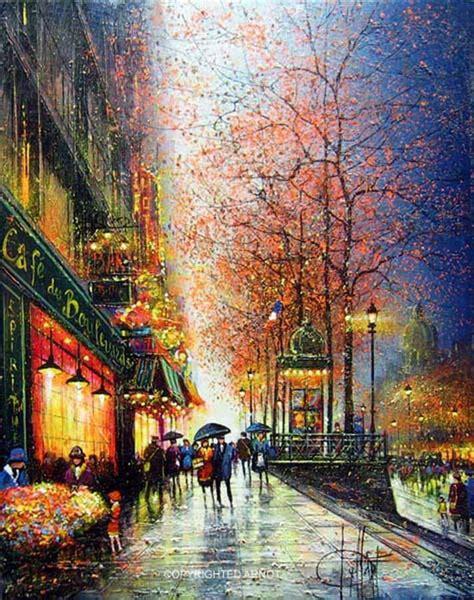 imagenes urbanas abstractas im 225 genes arte pinturas paisajes de ciudades parisinas