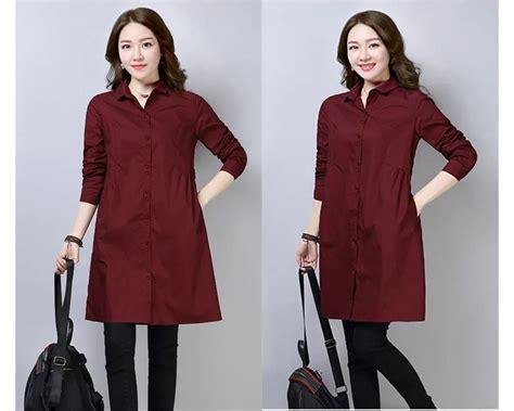 Sale Tas Korea Kancing Import baju korea tunik candi maroon